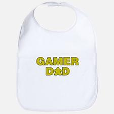 Gamer Dad Yellow Bib