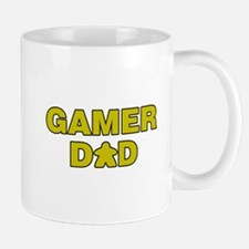 Gamer Dad Yellow Mugs