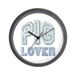 Pig Lover Piglet Farm Animal Wall Clock