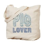 Pig Lover Piglet Farm Animal Tote Bag