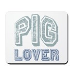 Pig Lover Piglet Farm Animal Mousepad