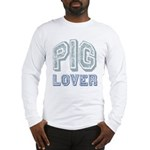 Pig Lover Piglet Farm Animal Long Sleeve T-Shirt