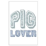 Pig Lover Piglet Farm Animal Large Poster