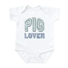Pig Lover Piglet Farm Animal Infant Bodysuit