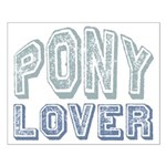 Pony Lover Horse Pet Small Poster