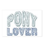 Pony Lover Horse Pet Postcards (Package of 8)