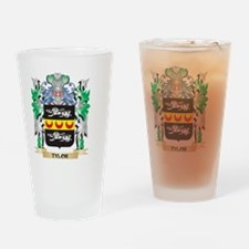 Tylor Coat of Arms - Family Crest Drinking Glass