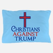 Christians Against Trump Pillow Case