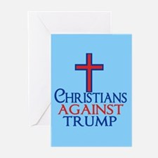 Christians Against Trump Greeting Cards (Pk of 10)