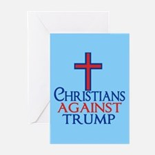 Christians Against Trump Greeting Cards (Pk of 20)
