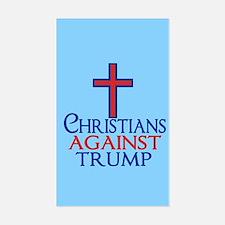 Christians Against Trump Decal