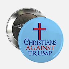 "Christians Against Trump 2.25"" Button"