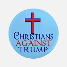 Christians Against Trump Button
