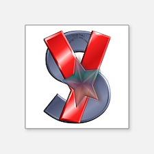 "Suiteyuko Logo Square Sticker 3"" X 3"""