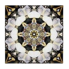 Tumbled Stones Mandala Tile Coaster