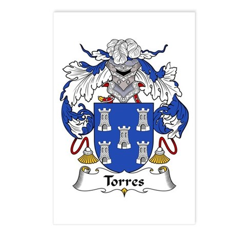 Torres Postcards (Package of 8)