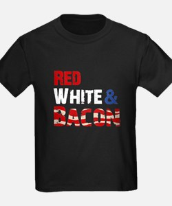 Red White and Bacon T