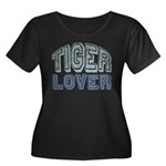 Tiger Lover Wildlife Safari Women's Plus Size Scoo