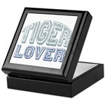 Tiger Lover Wildlife Safari Keepsake Box