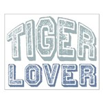 Tiger Lover Wildlife Safari Small Poster