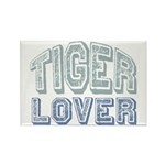 Tiger Lover Wildlife Safari Rectangle Magnet (10 p