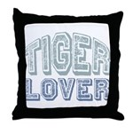 Tiger Lover Wildlife Safari Throw Pillow