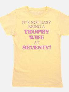 Cute Trophy wife Girl's Tee