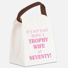 Cool Turning 70 Canvas Lunch Bag