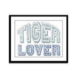 Tiger Lover Wildlife Safari Framed Panel Print