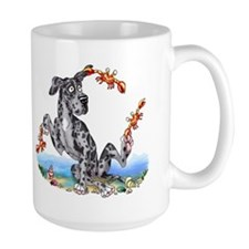 Great Dane Merle UC Crabby Mug