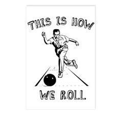 How We Roll Postcards (Package of 8)