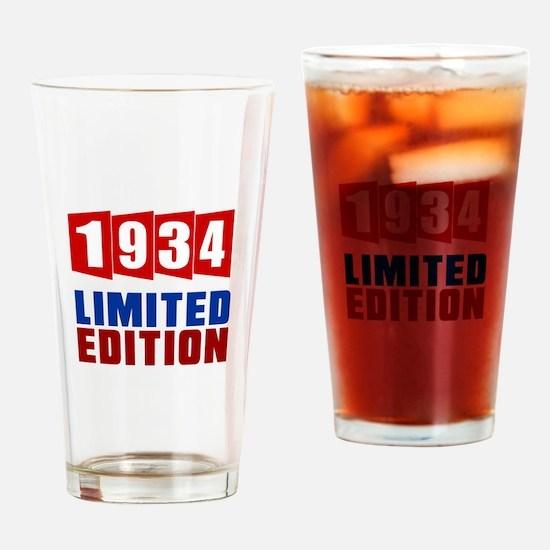 1934 Limited Edition Birthday Drinking Glass