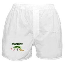 Together ..... (Darfur) Boxer Shorts