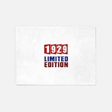1929 Limited Edition Birthday 5'x7'Area Rug