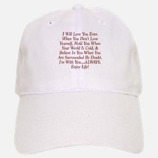 ALWAYS Enjoy Life! Baseball Baseball Baseball Cap