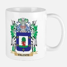 Valente Coat of Arms - Family Crest Mugs