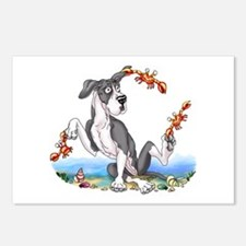 Great Dane Mantle UC Crabby Postcards (Package of