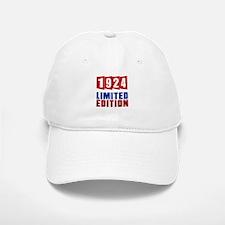 1924 Limited Edition Birthday Baseball Baseball Cap