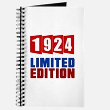 1924 Limited Edition Birthday Journal