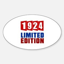 1924 Limited Edition Birthday Decal