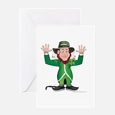 Aussie Paddy Greeting Card