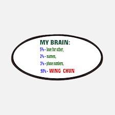 My Brain, 90% Wing Chun Patch