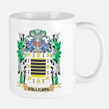 Vallejos Coat of Arms - Family Crest Mugs