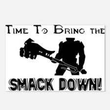 Smack down Postcards (Package of 8)