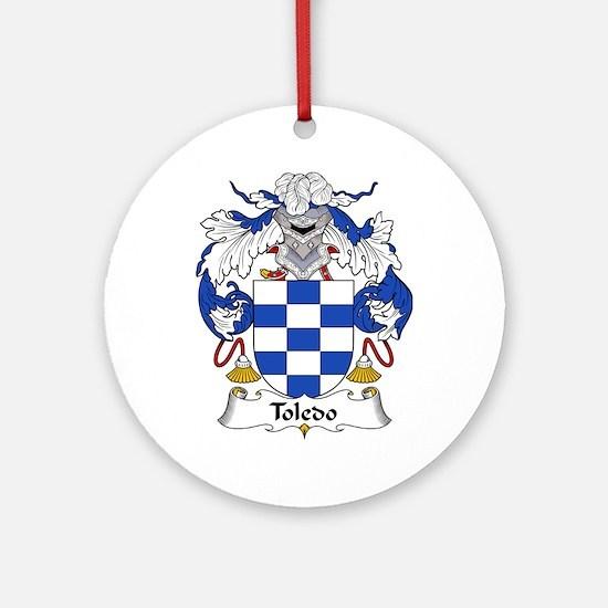 Toledo Ornament (Round)