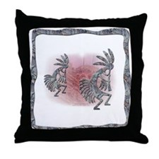 Kokopelli No.6 Throw Pillow