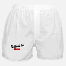 """""""The World's Best Boo"""" Boxer Shorts"""