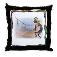 Kokopelli No.10 Throw Pillow