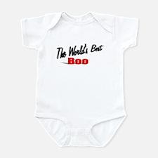 """""""The World's Best Boo"""" Infant Bodysuit"""