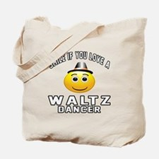 Waltz Dancer Designs Tote Bag